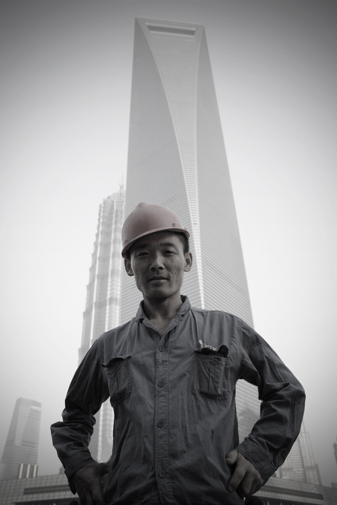 The face of Shanghai's skyline