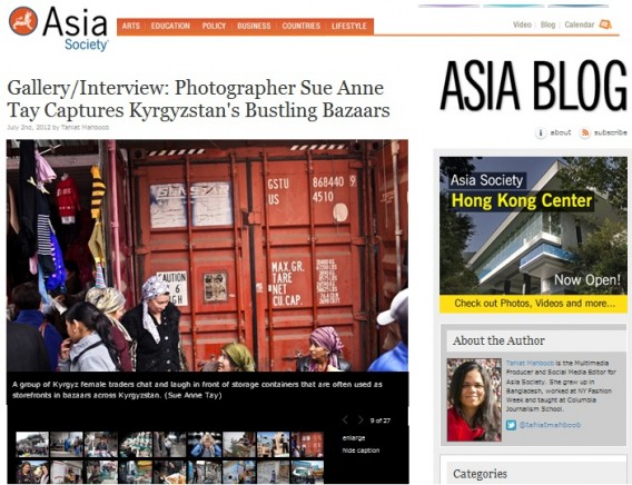 120703 Aisa Society Feature Kyrgyzstan