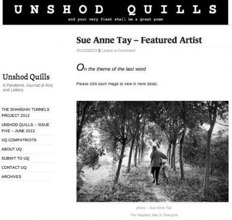 Unshod Quills JUN12