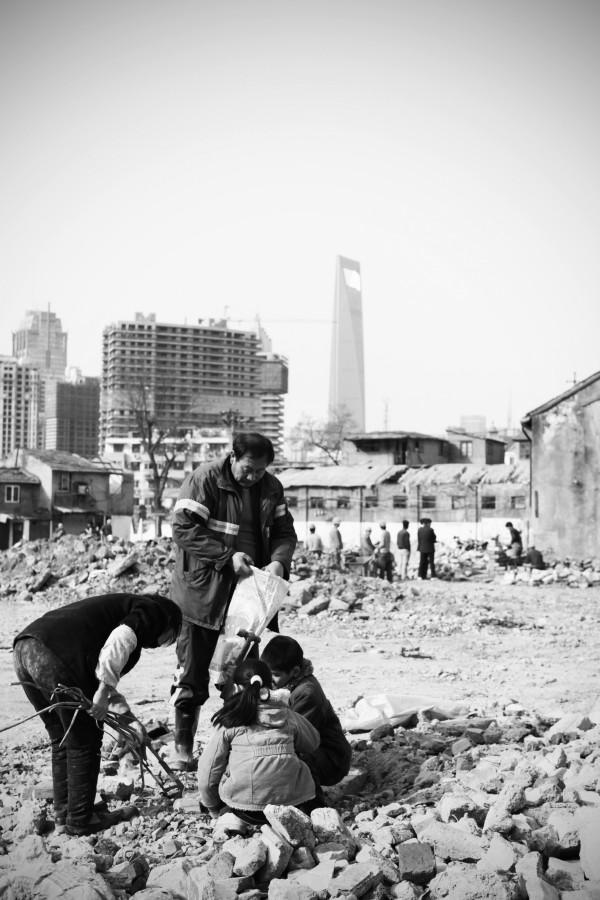 Shanghai scrapers