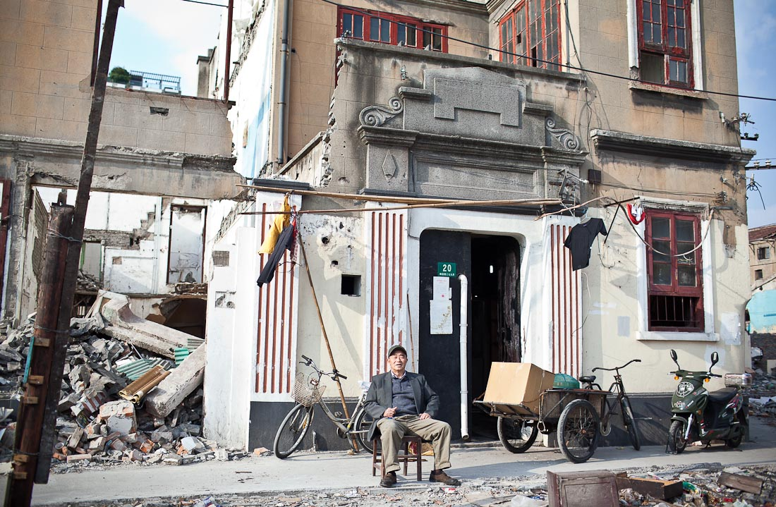 Xinping Lu demolished