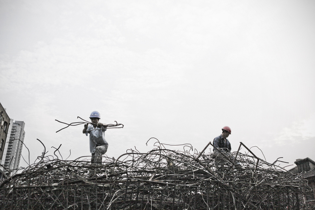 Building a steel nest