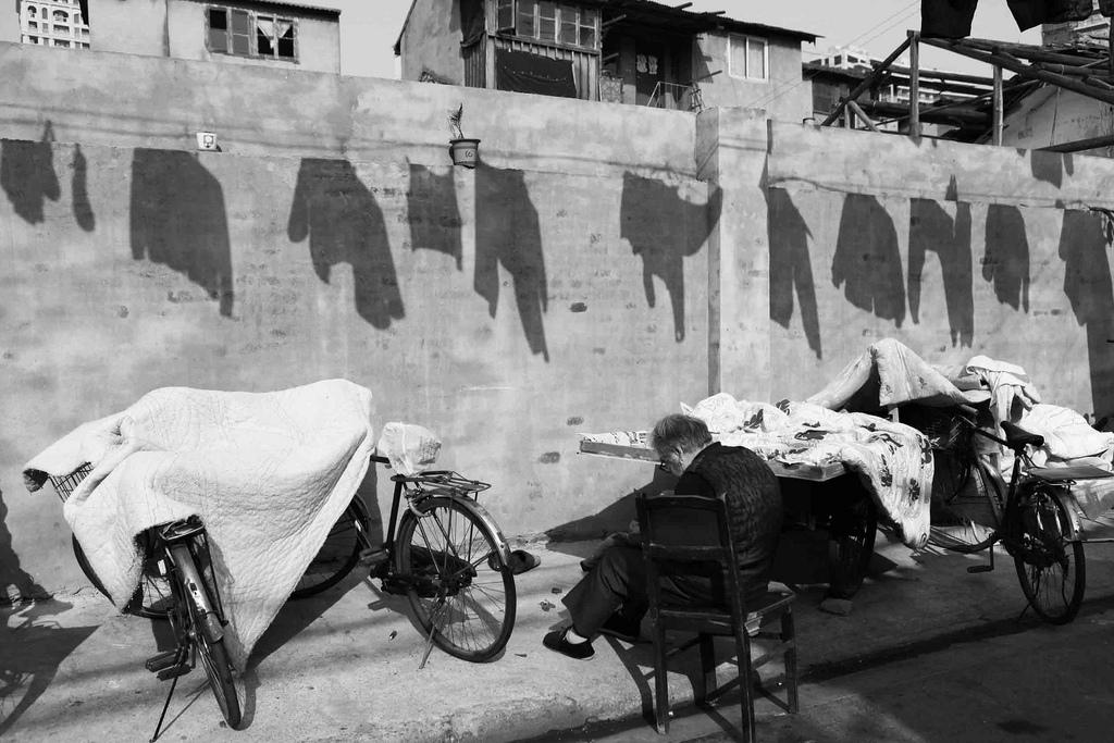 Street laundry Wangjiamatou Lu