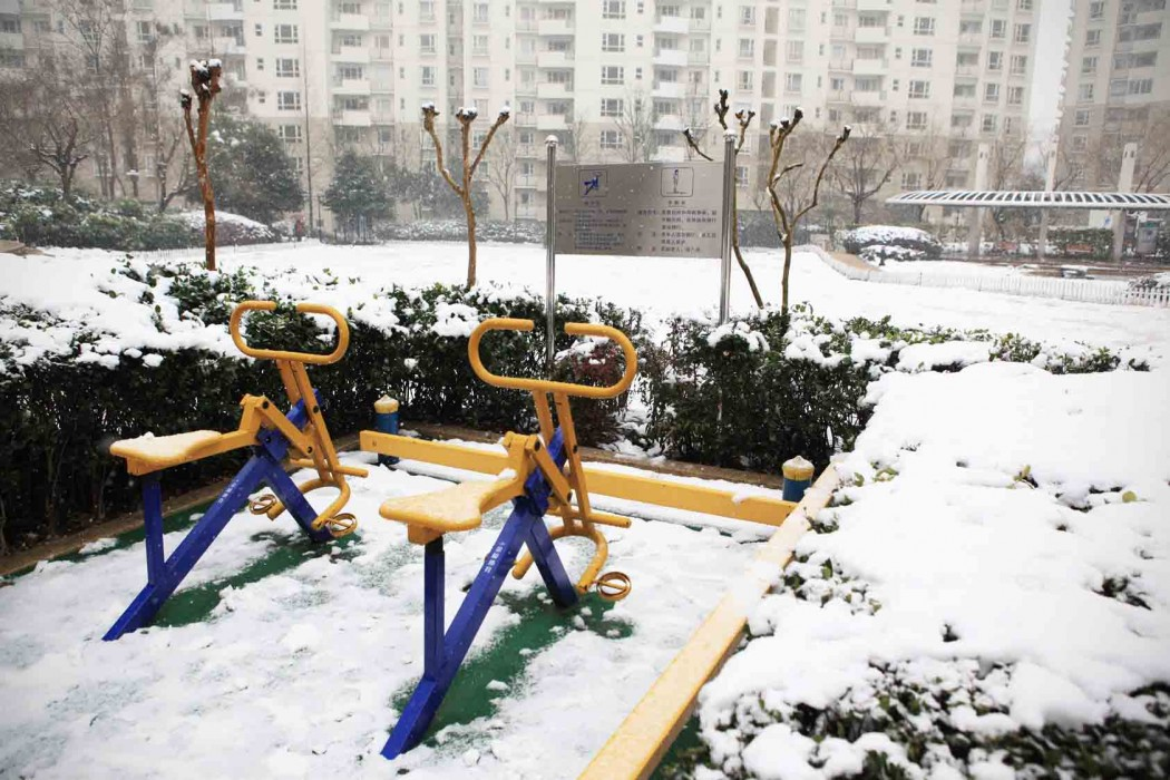 Snow day Shanghai