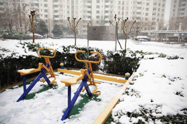 Snow day Shanghai