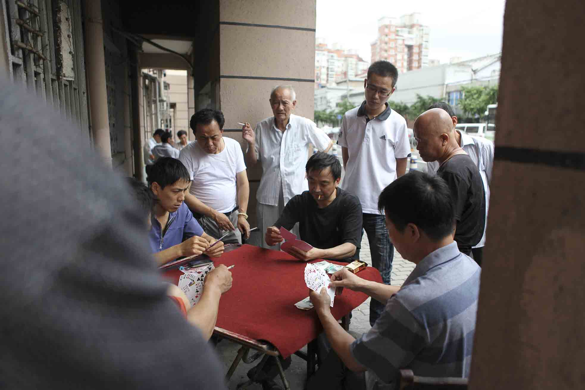 Mahjong in the streets 05