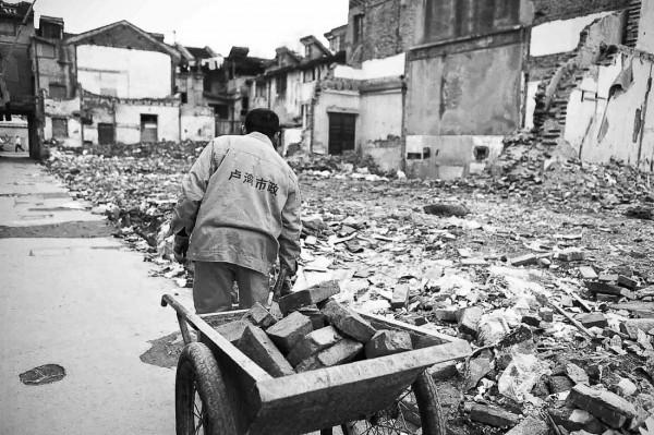 Life of old brick in Luwan 02