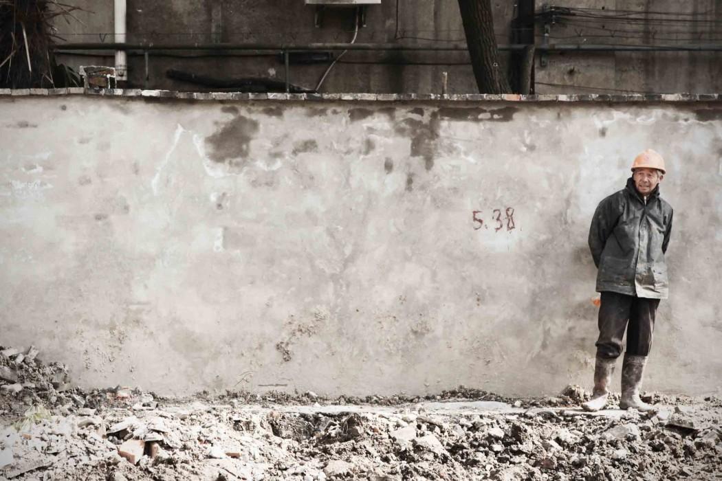 Hongkou worker wall
