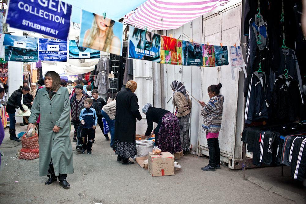 Bishkek Osh Market Layout