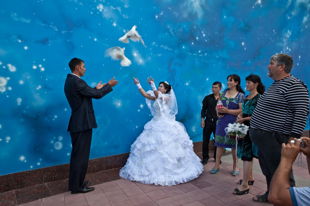 Samarkand Ulugh Beg Observatory Wedding
