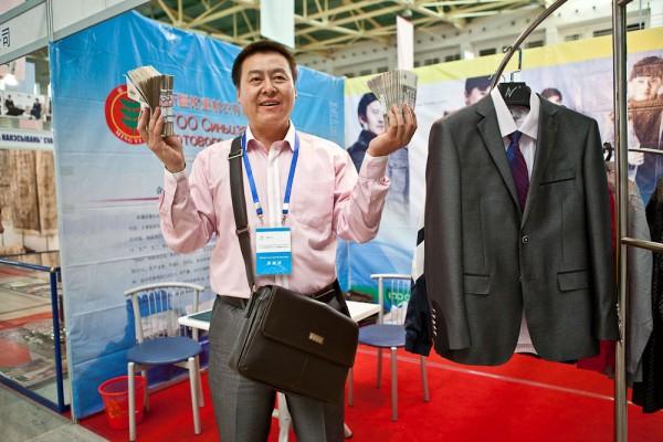 Xinjiang businessman in Tashkent