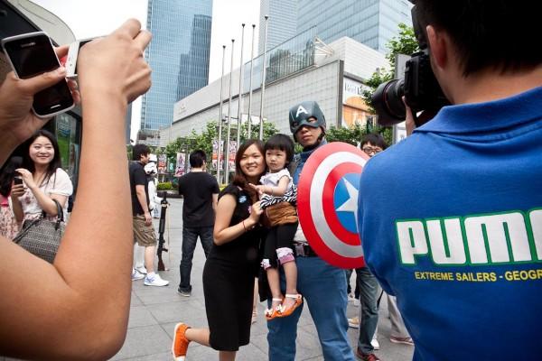 LIttle Bun Captain America