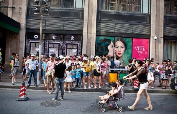 2013/07/31 Chinese Tourist in Shanghai 01
