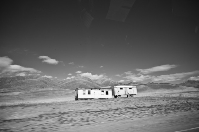 Kyrgyzstan Landscapes BW 03