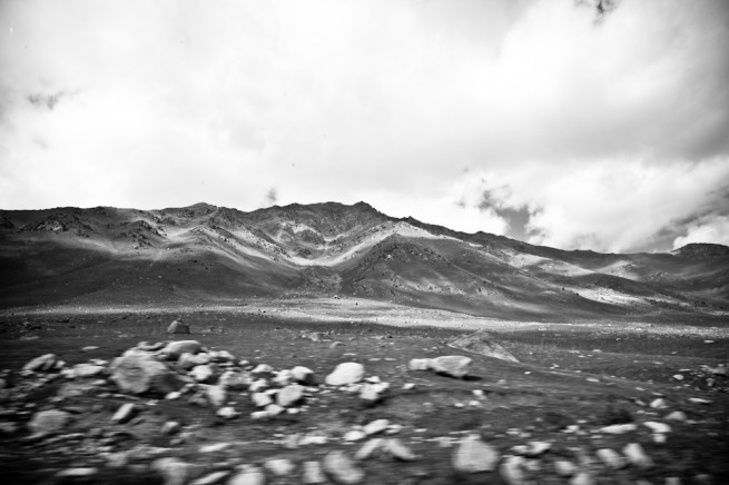 Kyrgyzstan Landscapes BW 01