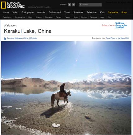 NatGeo Karakul Lake Xinjiang MAR11