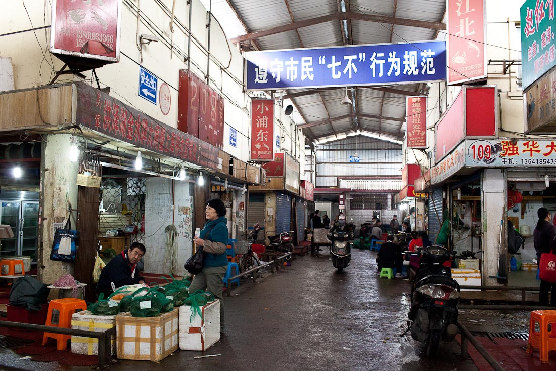 Tongchuan Fish Market 02