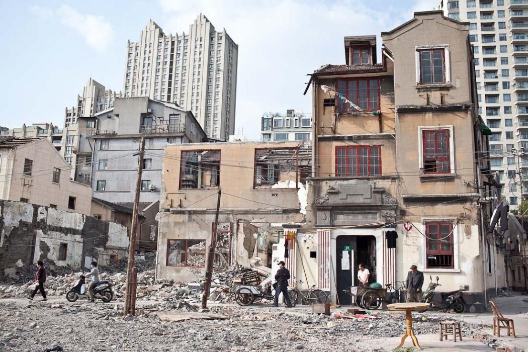 05 Demolition Xinping Lane