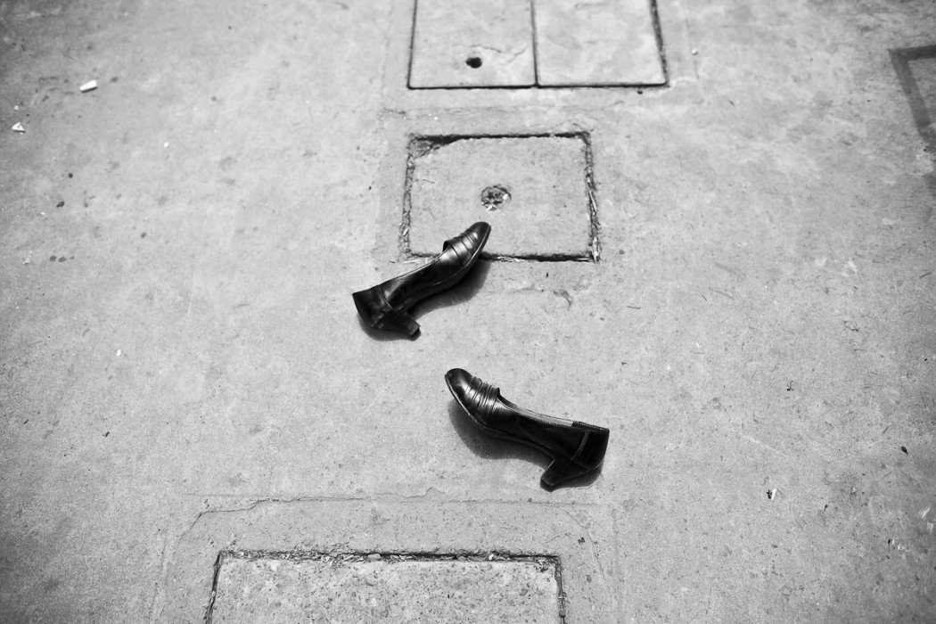 Shoes in the lane