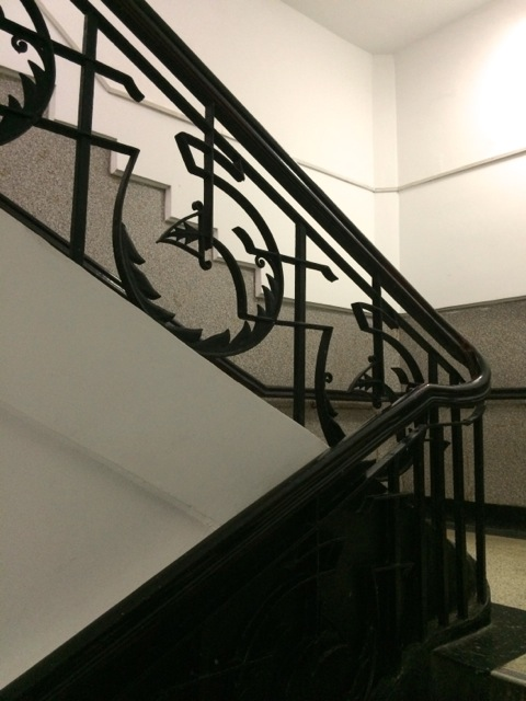 Chekiang Theatre stairway 2014-small
