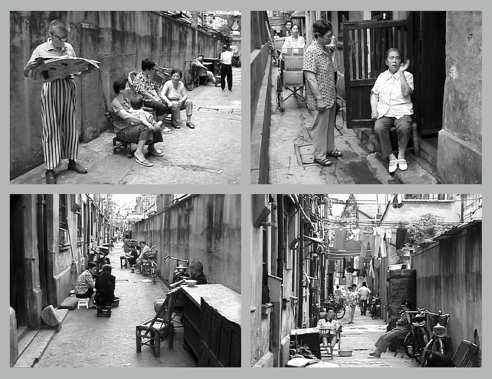 Shanghai Homes Jie LI alleyway neighbors