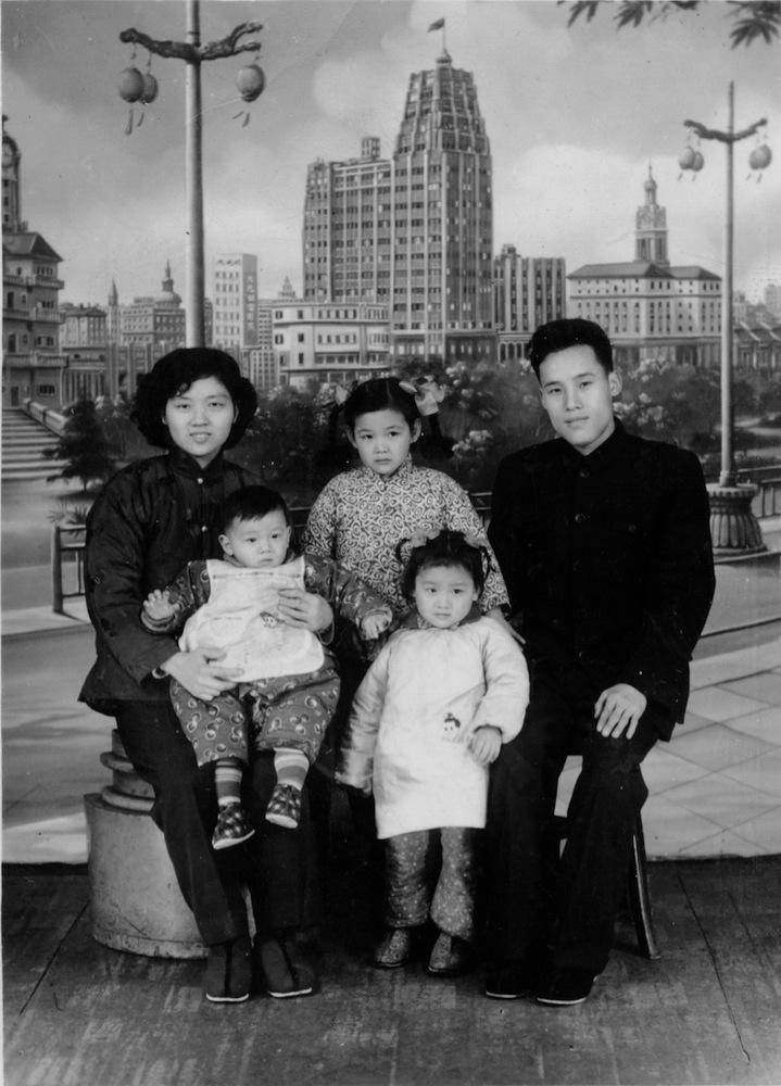 Shanghai Homes Jie LI waigong waipo family