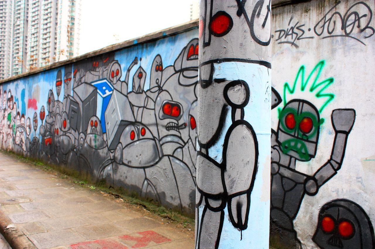 MoganshanLuStreetArtWall 09